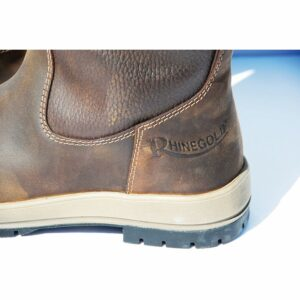 Rhinegold Elite Vermont Leather Country Boots - Wide