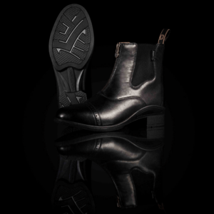 Altitude Zip Paddock Boots black