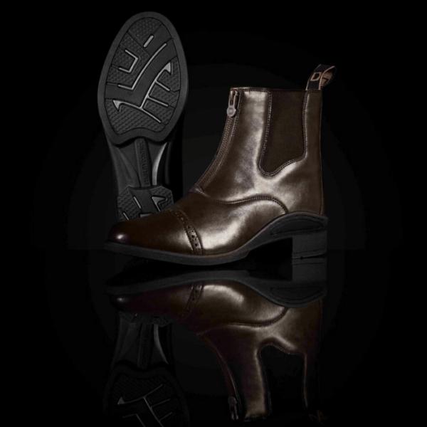 Altitude Zip Paddock Boots brown