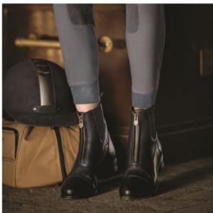 Ariat Women's Heritage IV Zip Paddock Boots black and worn