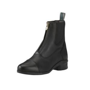 Ariat Women's Heritage IV Zip Paddock Boots in black front