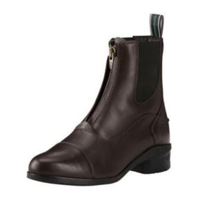 Ariat Women's Heritage IV Zip Paddock Boots in brown side