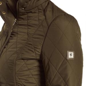 Bettystown Padded Jacket dark green details
