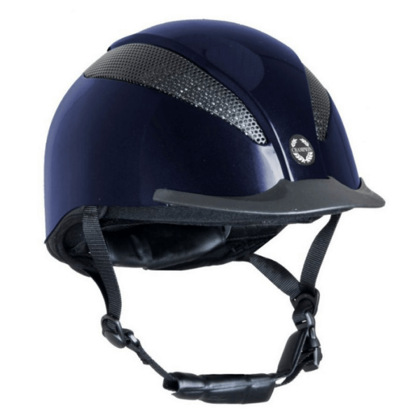 Champion Air-Tech Deluxe Children's Riding Hat navy