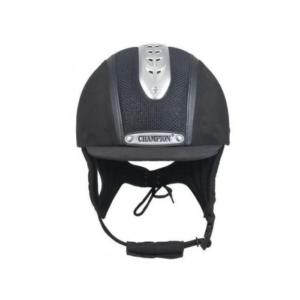 Champion Evolution Puissance Children's Riding Hat black front