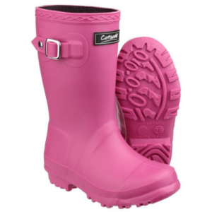 Cotswold Buckingham Kids Wellingtons pink
