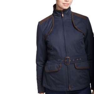 Dubarry Enright Ladies Belted Jacket navy side