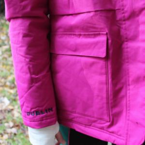 Dublin Adda Waterproof Jacket exterior pocket