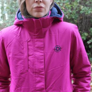 Dublin Adda Waterproof Jacket front closed