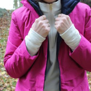 Dublin Adda Waterproof Jacket front details