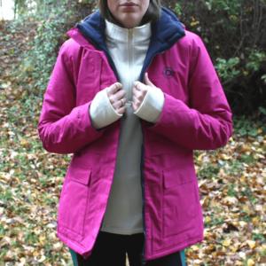 Dublin Adda Waterproof Jacket front open