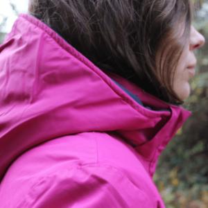 Dublin Adda Waterproof Jacket hood