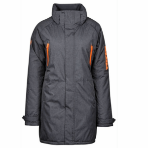 Dublin Amy Mid Length Waterproof Parka gray without hood