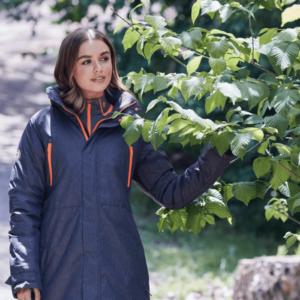 Dublin Amy Mid Length Waterproof Parka worn
