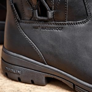Dublin Full Grain Pinnacle Boots II black logo