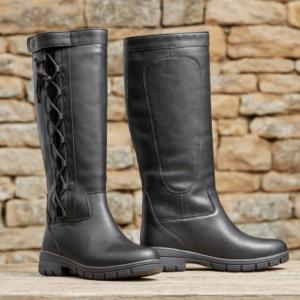 Dublin Full Grain Pinnacle Boots II black sides