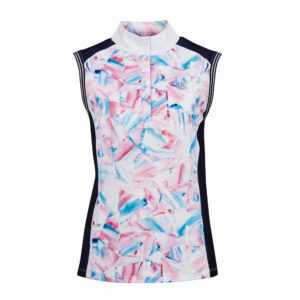 Dublin Katie Printed Sleeveless Competition Shirt