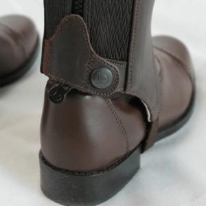 Dublin Leather Half Chaps back sole