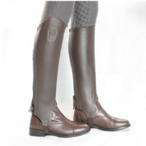 Dublin Leather Half Chaps side right