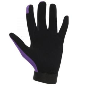 Dublin Mesh Back Riding Gloves purple front