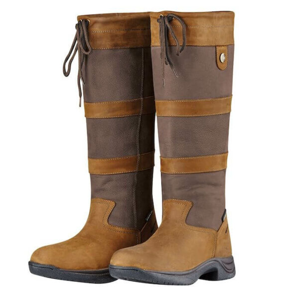 Dark Brown Dublin River Boots III