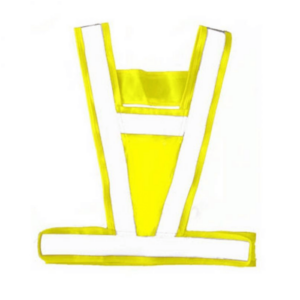 Equisafety Lightweight Body Harness in yellow