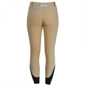 Horseware Ladies Full Seat Competition Breeches beige back