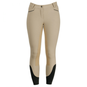 Horseware Ladies Full Seat Competition Breeches beige front