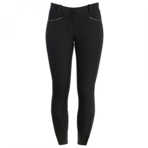 Horseware Ladies Full Seat Competition Breeches black front