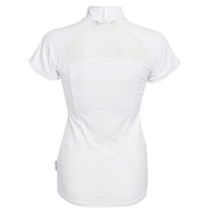 Horseware Ladies Sara Competition Shirt in white back