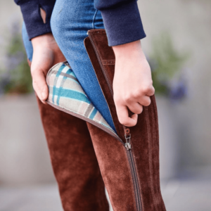 Kalmar SD Tall Boots - Chocolate - Unzipped