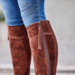 Kalmar SD Tall Boots - Chocolate - Zip