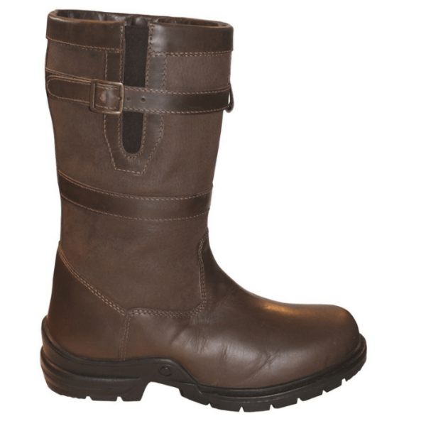Mark Todd Short Country Boots side