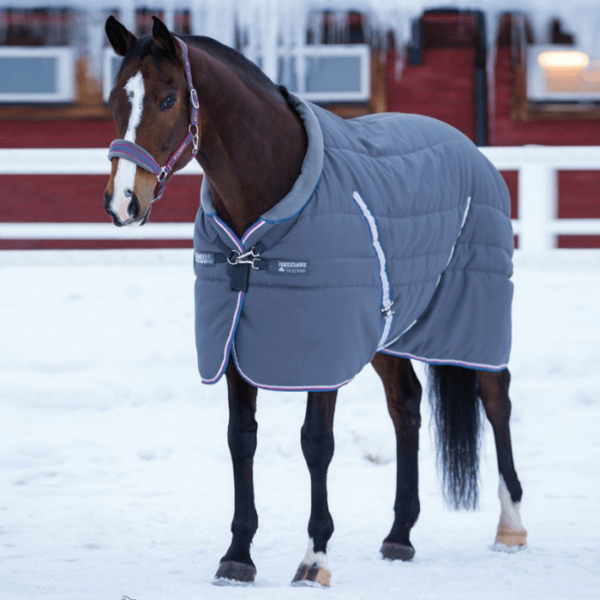 Rambo Cosy Stable Rug baby blue front