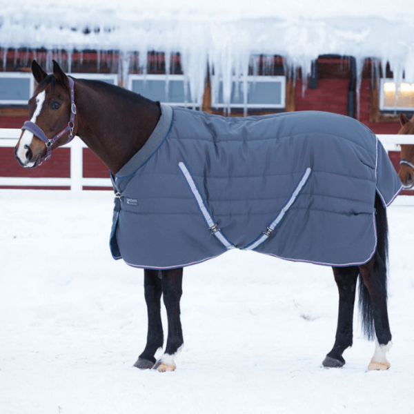 Rambo Cosy Stable Rug baby blue side