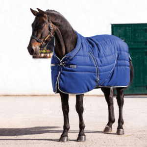 Rambo Cosy Stable Rug blue front