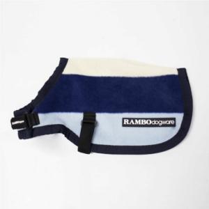 Rambo Deluxe Dog Rug navy