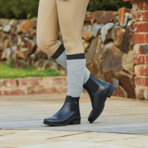 Rapture Jodhpur Boots black when worn