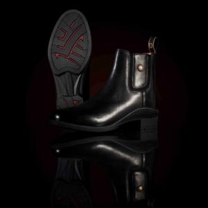 Rapture Jodhpur Boots in black