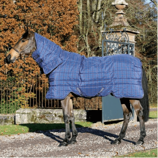 Rhino Stable All-In-One Heavy blue checkered