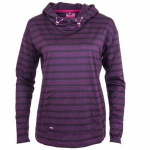 Ryton Hooded Sweatshirt purple front