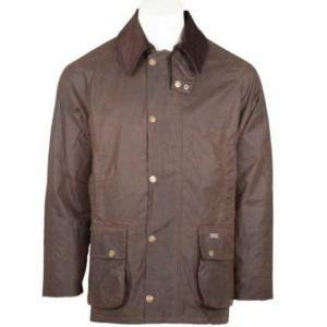 Toggi Balmoral Unisex Wax Jacket chocolate front