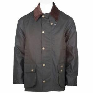Toggi Balmoral Unisex Wax Jacket olive front