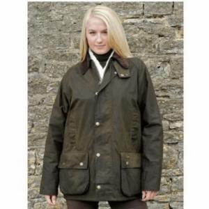Toggi Balmoral Unisex Wax Jacket olive women