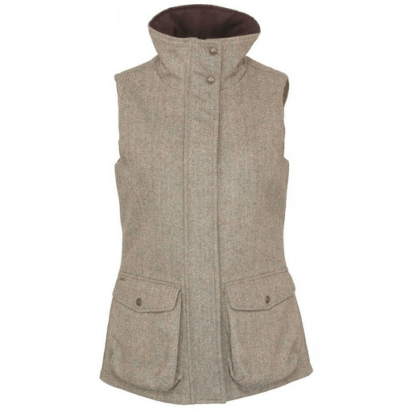 Toggi Benthall Ladies Tweed Gilet front
