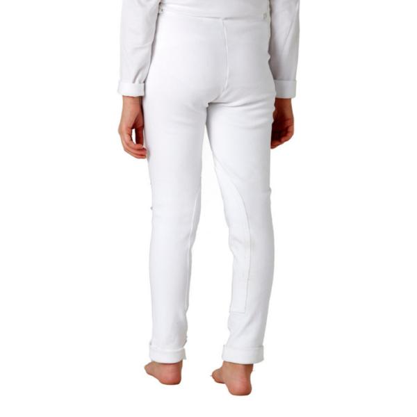 Toggi Children's Classic Jodhpurs white back