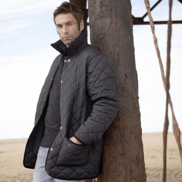 Toggi Kendal Men's Quilted Jacket black for men