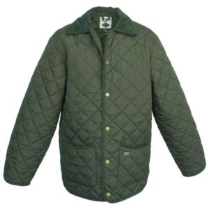 Toggi Kendal Men's Quilted Jacket in olive