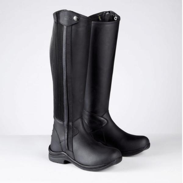 Toggi Quest Riding Boots black front