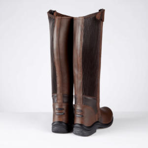 Toggi Quest Riding Boots brown back
